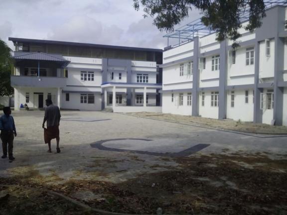 foto del nuevo edificio de la Casa de la India