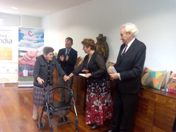 Luis del Olmo entrega el Premio