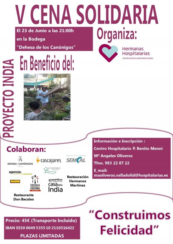V Cena Solidaria Benito Menni