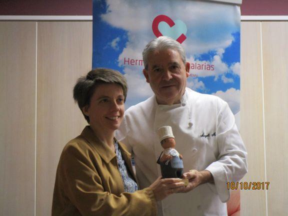 Alfonso García, del Restaurante Don Bacalao Premios CH Benito Menni 2017